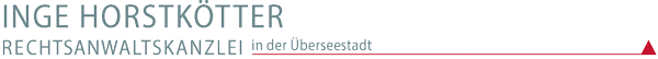 Rechtsanwältin Horstkötter Logo